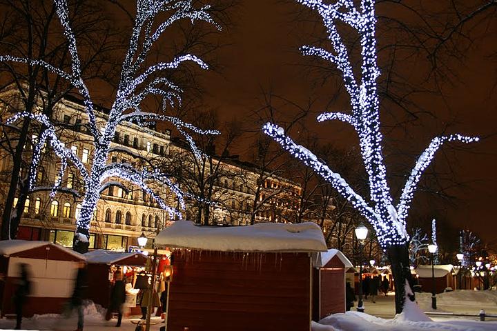 Новогодний Хельсинки