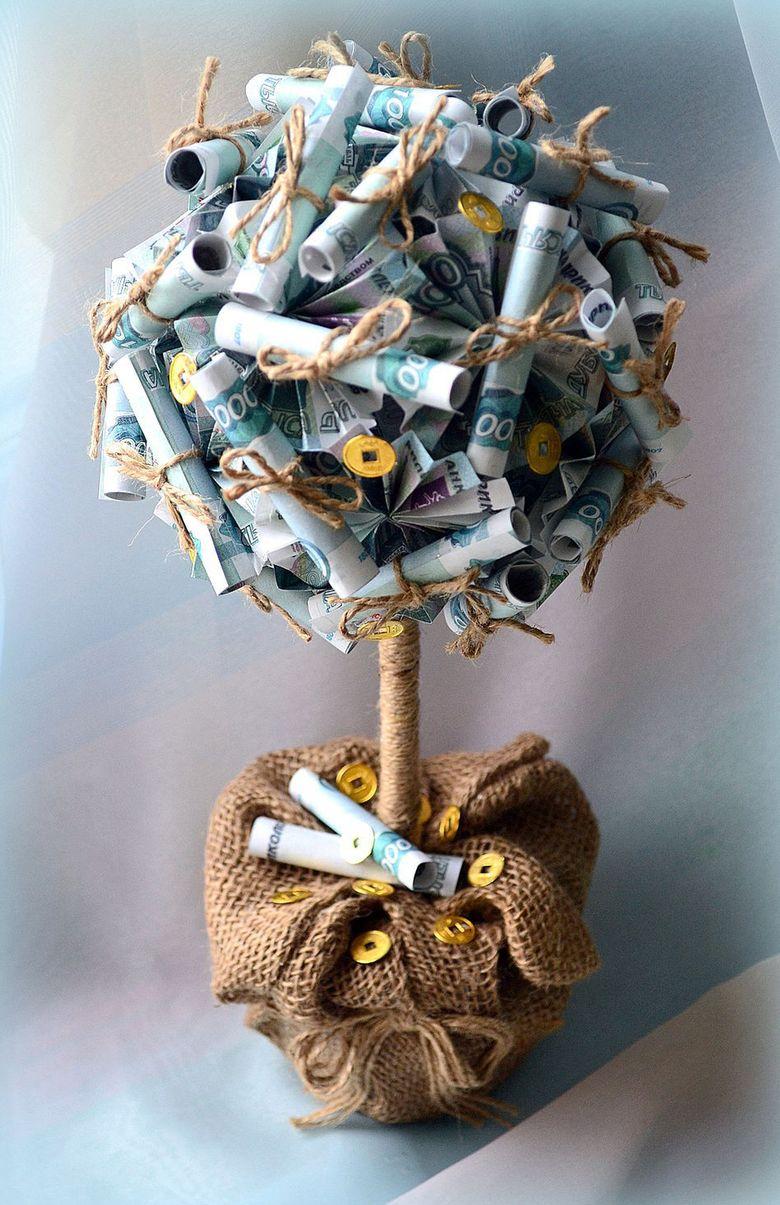 Что сделать своими руками денежное дерево 31
