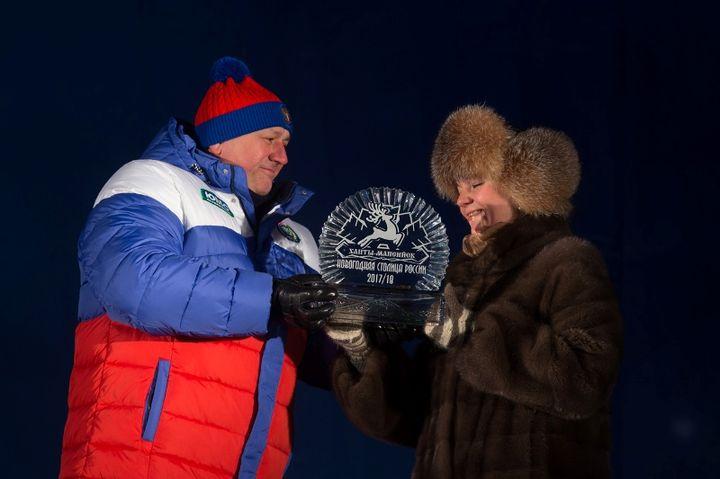 Передача символа новогодней столицы России к Туле