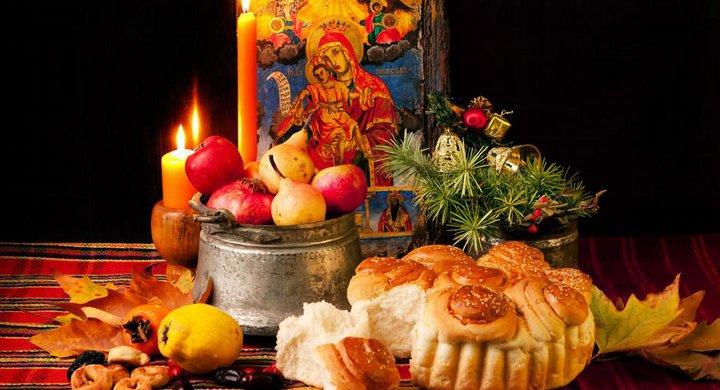 продукты питания и икона