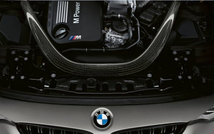 Карбоновая распорка BMW 3 series