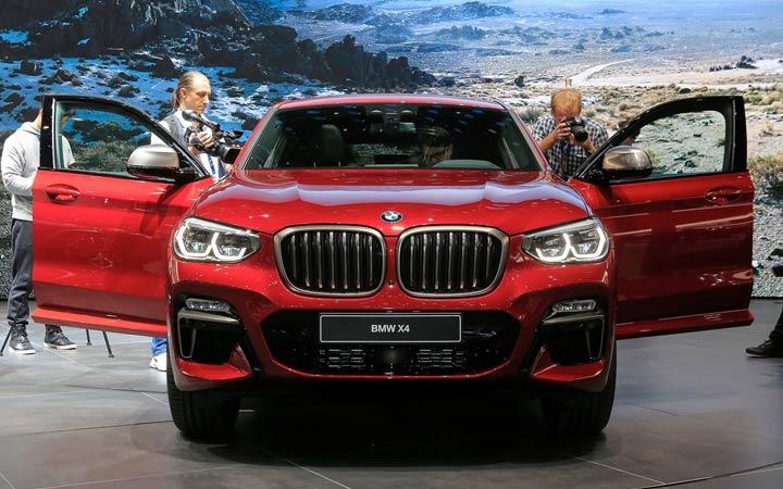 Технические характеристики BMW X4 2019 года