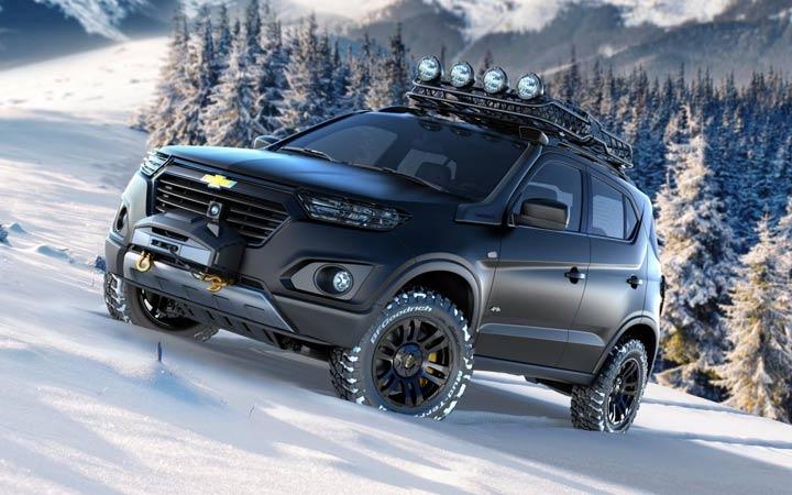 Экстерьер Chevrolet Niva 2019 года