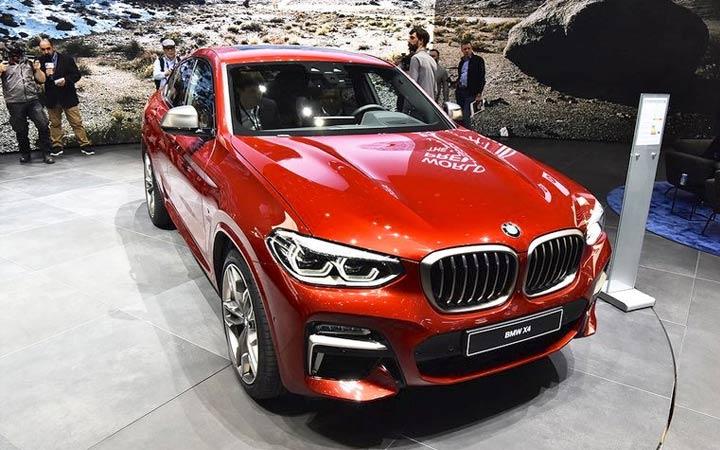 BMW X4 2019 года