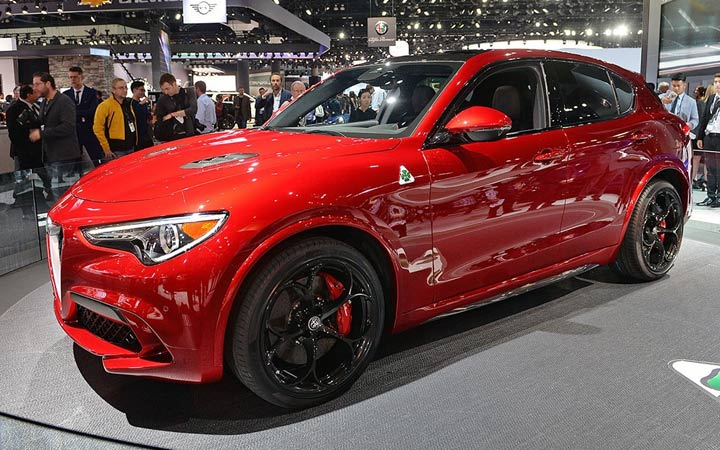 Alfa Romeo Stelvio 2019 года