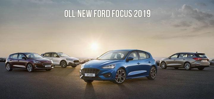 Все новые Ford Focus 2019 года