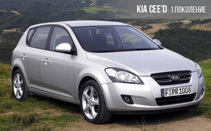 Kia cee'd 1 поколение