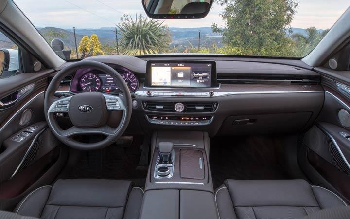 Интерьер Kia K900 2019