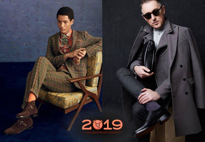 Модная мужская обувь 2018-2019 года