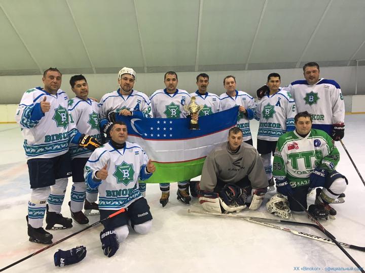 Хоккей в Узбекистане