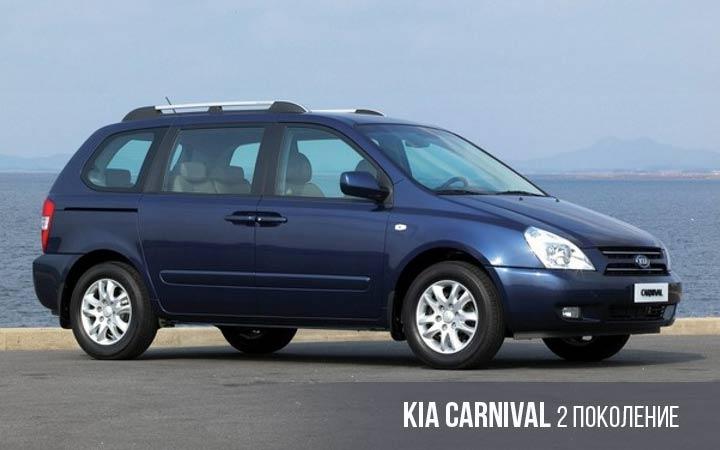 Kia Carniva 2 поколение