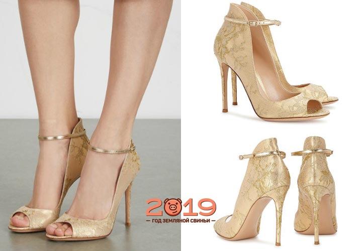 Модные открытые туфли 2018-2019 года