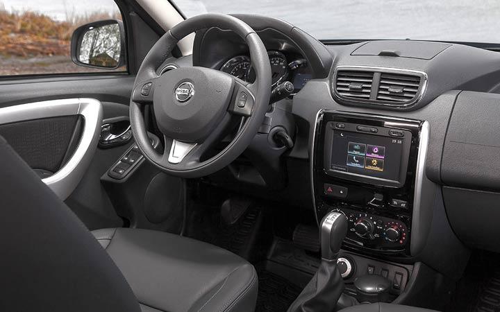 Интерьер Nissan Terrano 2018-2019 года