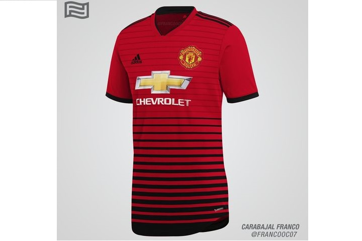 Домашняя форма Манчестер Юнайтед на сезон 2018-2019