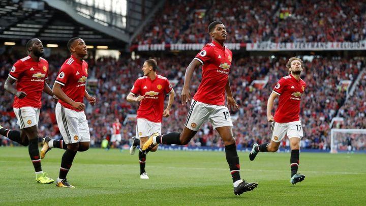ФК Манчестер Юнайтед на поле