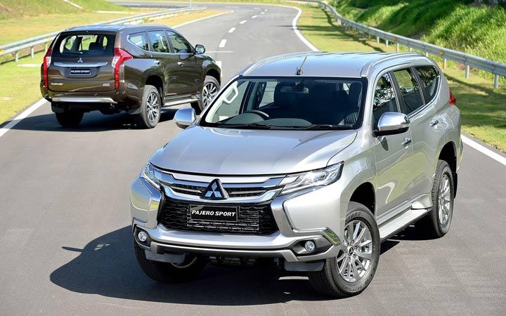 Экстерьер Mitsubishi Pajero 2019 года
