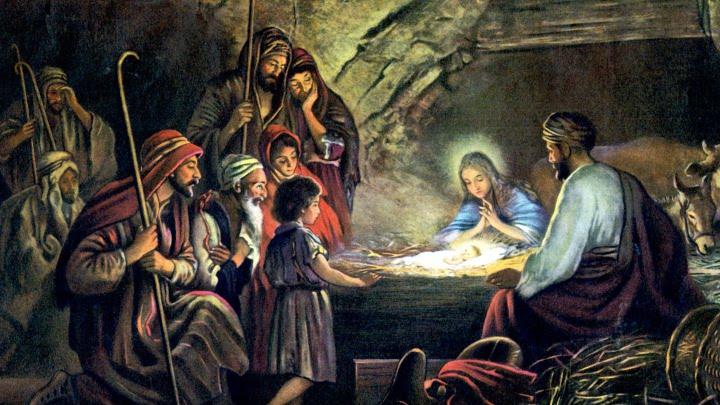 картина Рождение Христа