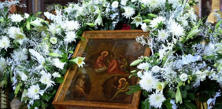 икона Рождение Христа