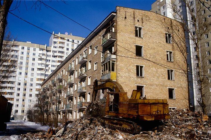 Реновация домов в Москве