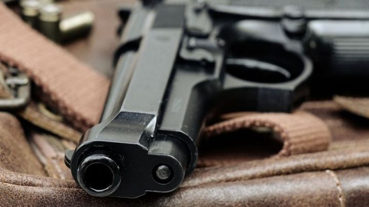Оружие сотрудника МВД