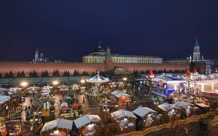 Рождественские ярмарки в Москве 2019. Новогодние