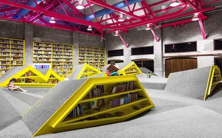 Необычный формат библиотеки в Монтерее