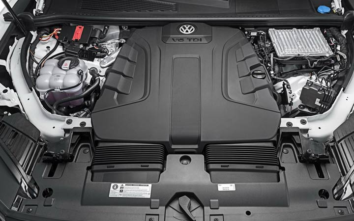Двигатель Volkswagen Touareg 2018-2019