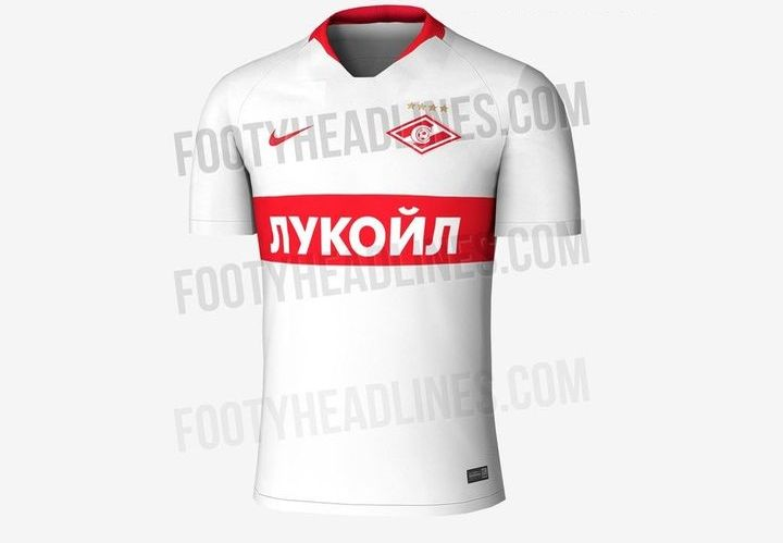 Гостевая форма ФК Спартак 2018-2019 года