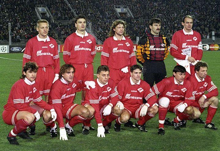 ФК Спартак в 1996 году
