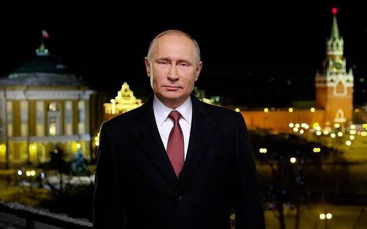 Новогоднее обращение Путина 31 декабря 2018 года