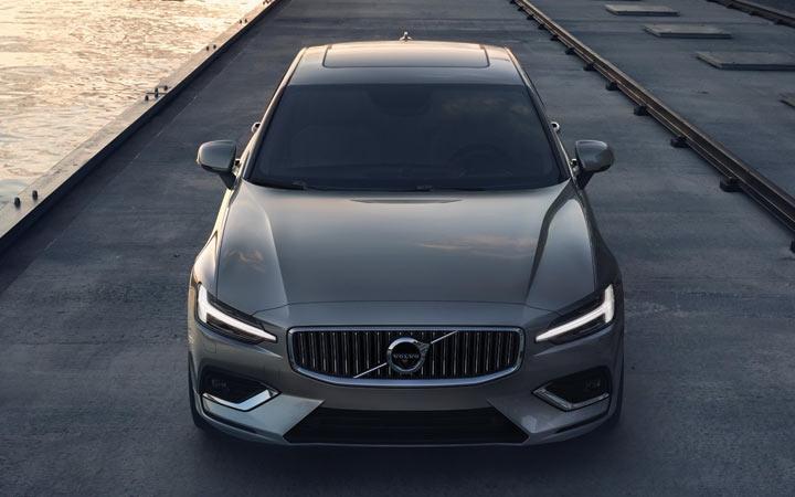 Габариты Volvo S60 2019